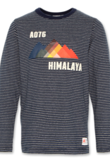 AMERICAN OUTFITTERS c-neck ls t-shirt himalaya Navy