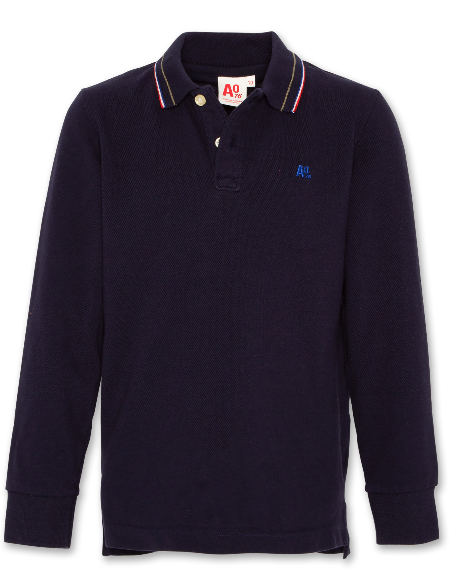 AMERICAN OUTFITTERS polo pique ls Dark navy
