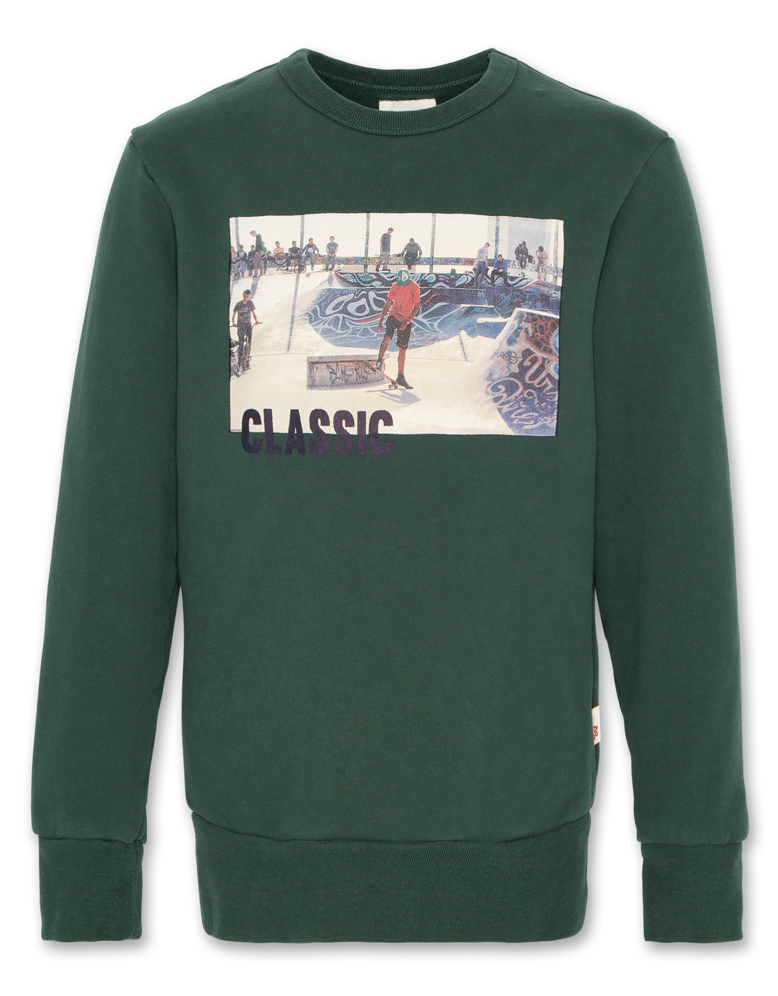 AMERICAN OUTFITTERS c-neck sweater classic Green