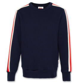 AMERICAN OUTFITTERS c-neck sweater tape Navy