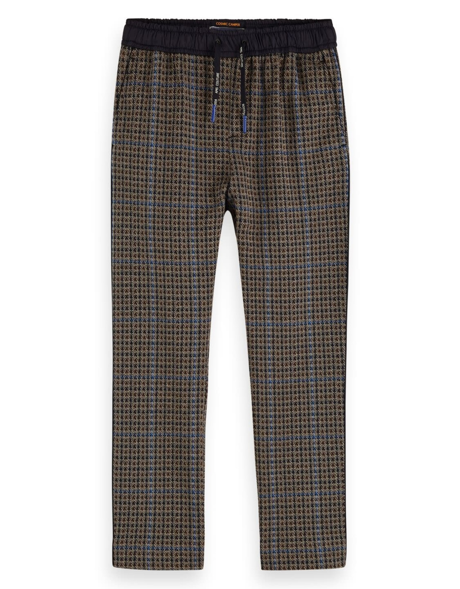 SCOTCH & SODA Yarn dyed pants in knitted quality 0218-Combo B