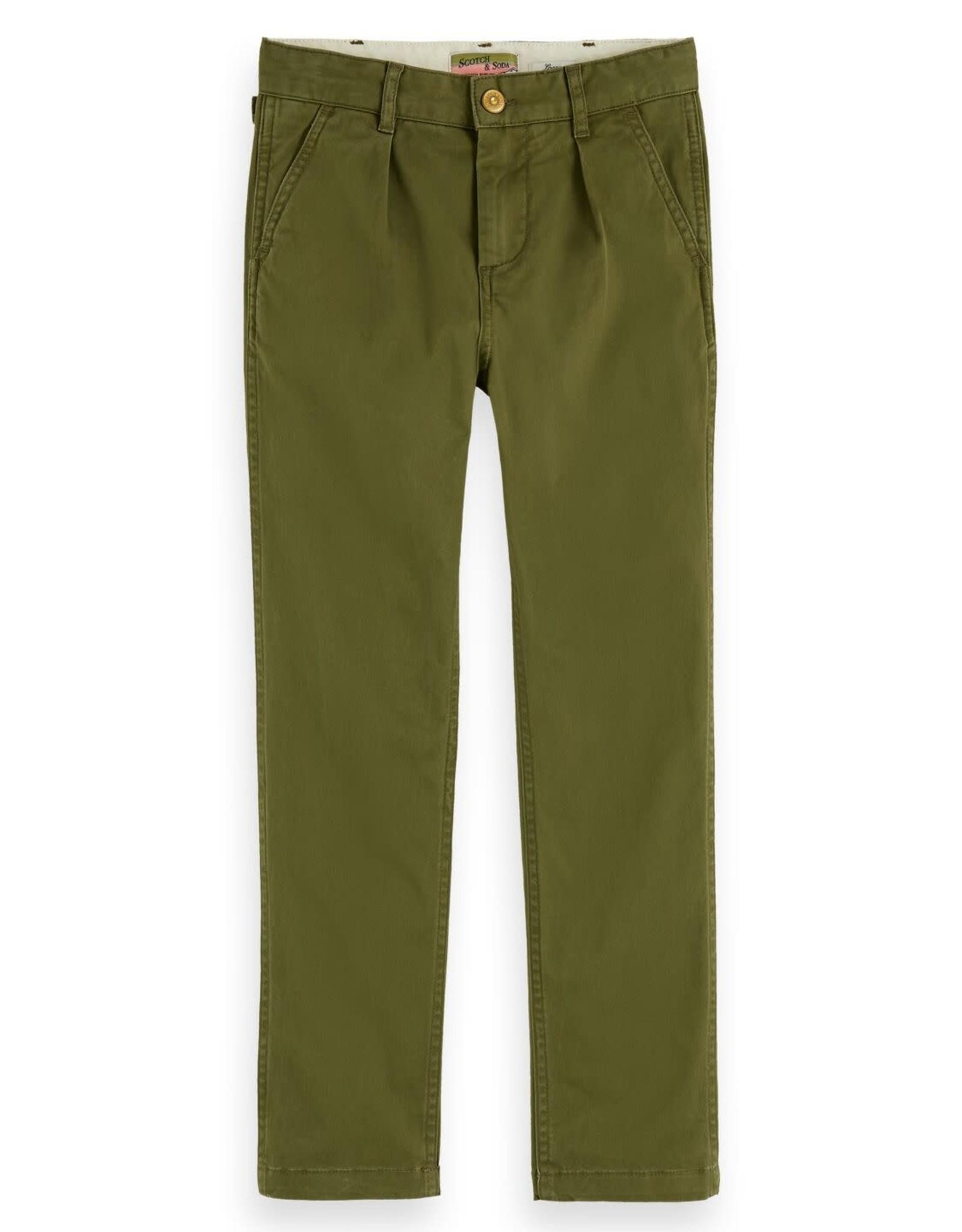 SCOTCH & SODA Worker pants 0360-Military