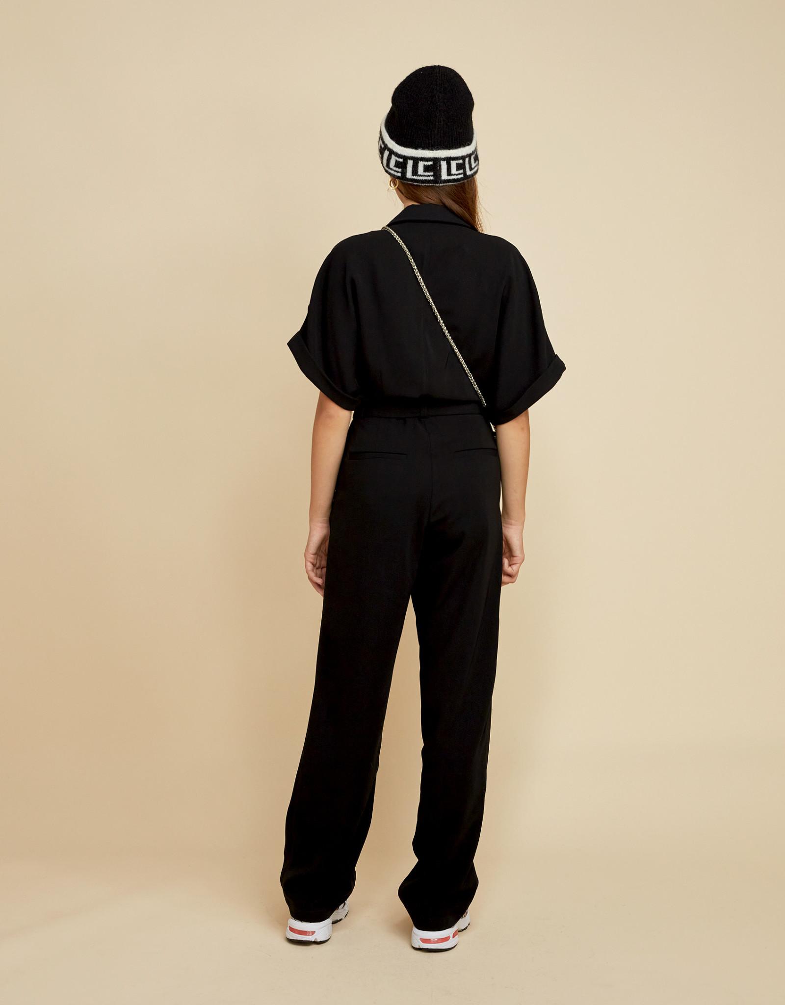 LES COYOTES DE PARIS Frankie noir jumpsuit