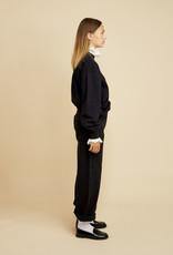 LES COYOTES DE PARIS Viktoria noir sweater met kant