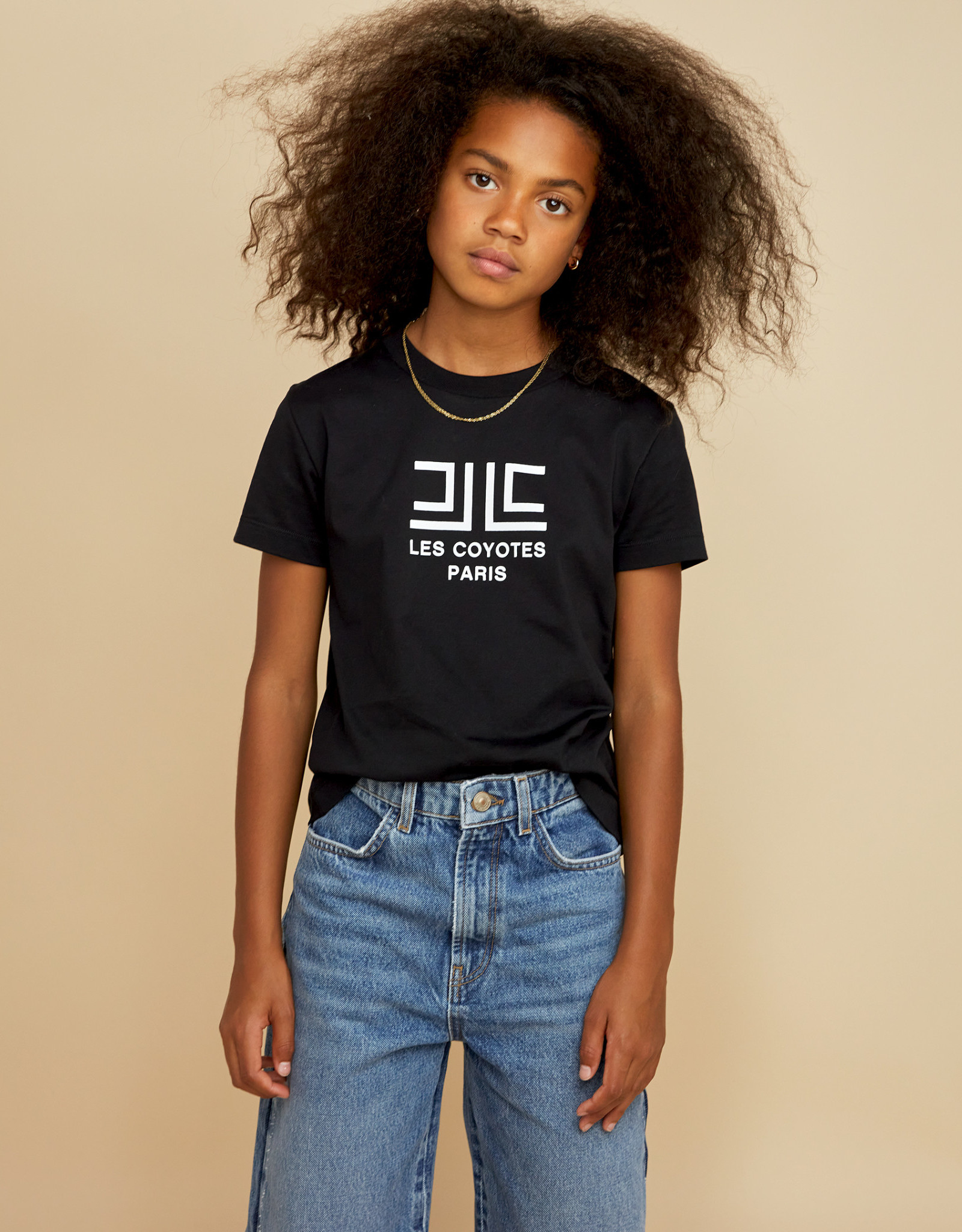 LES COYOTES DE PARIS Amé noir t-shirt