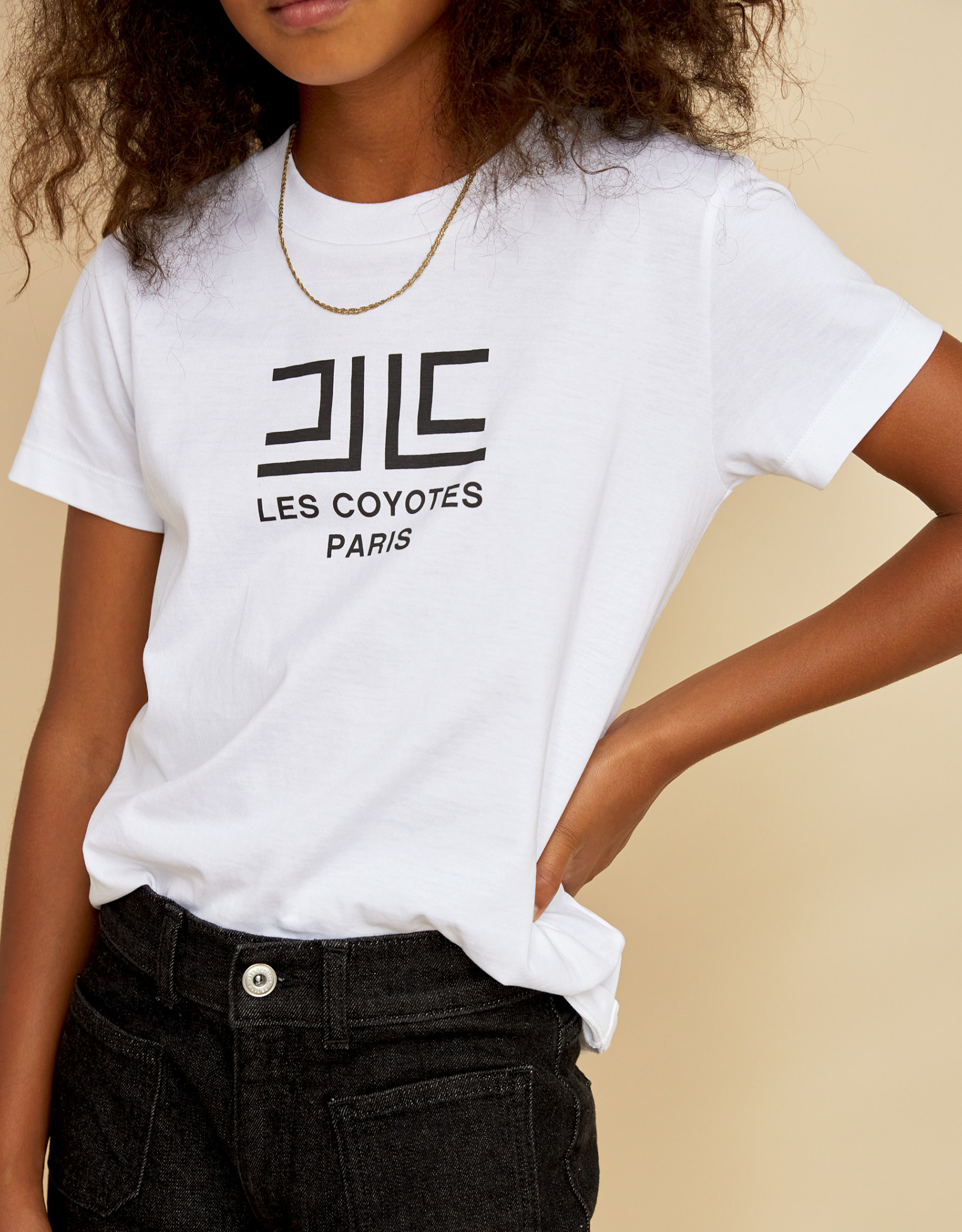 LES COYOTES DE PARIS Amé white t-shirt