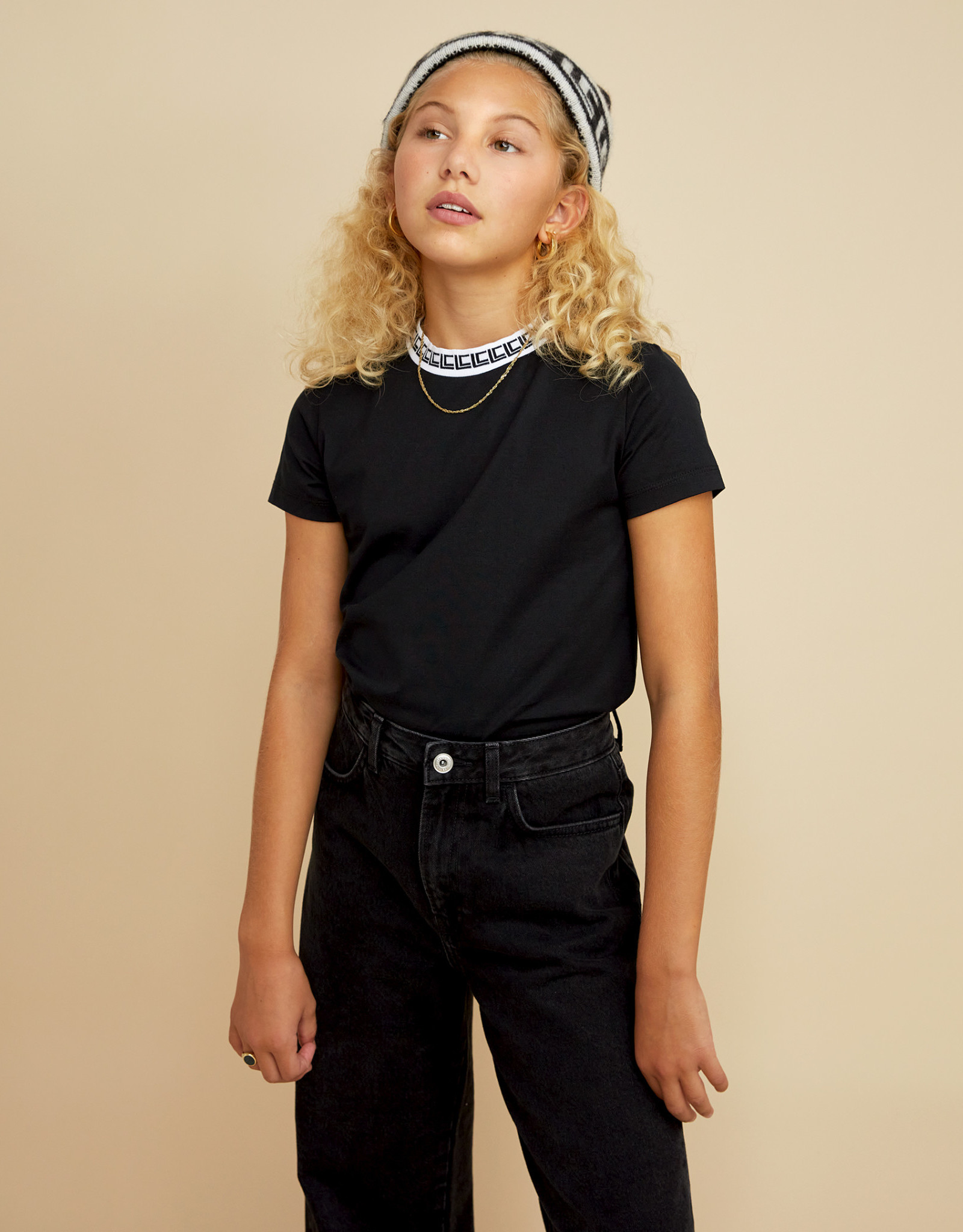 LES COYOTES DE PARIS Alisa noir t-shirt