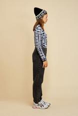 LES COYOTES DE PARIS Vivien black tie dye t-shirt