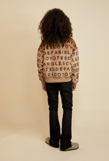LES COYOTES DE PARIS Polly pure chocolate brown pull