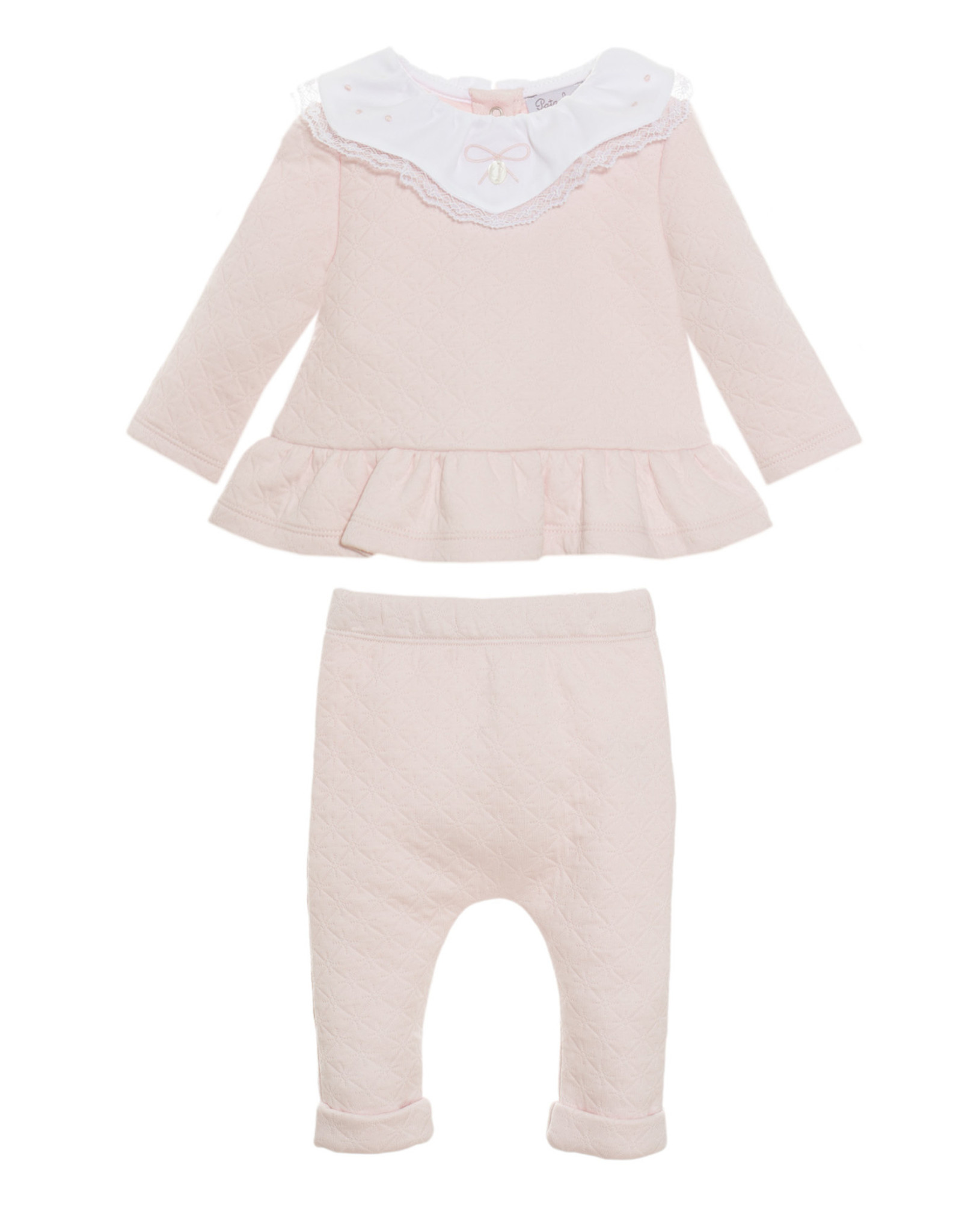 PATACHOU Baby girl set double pink