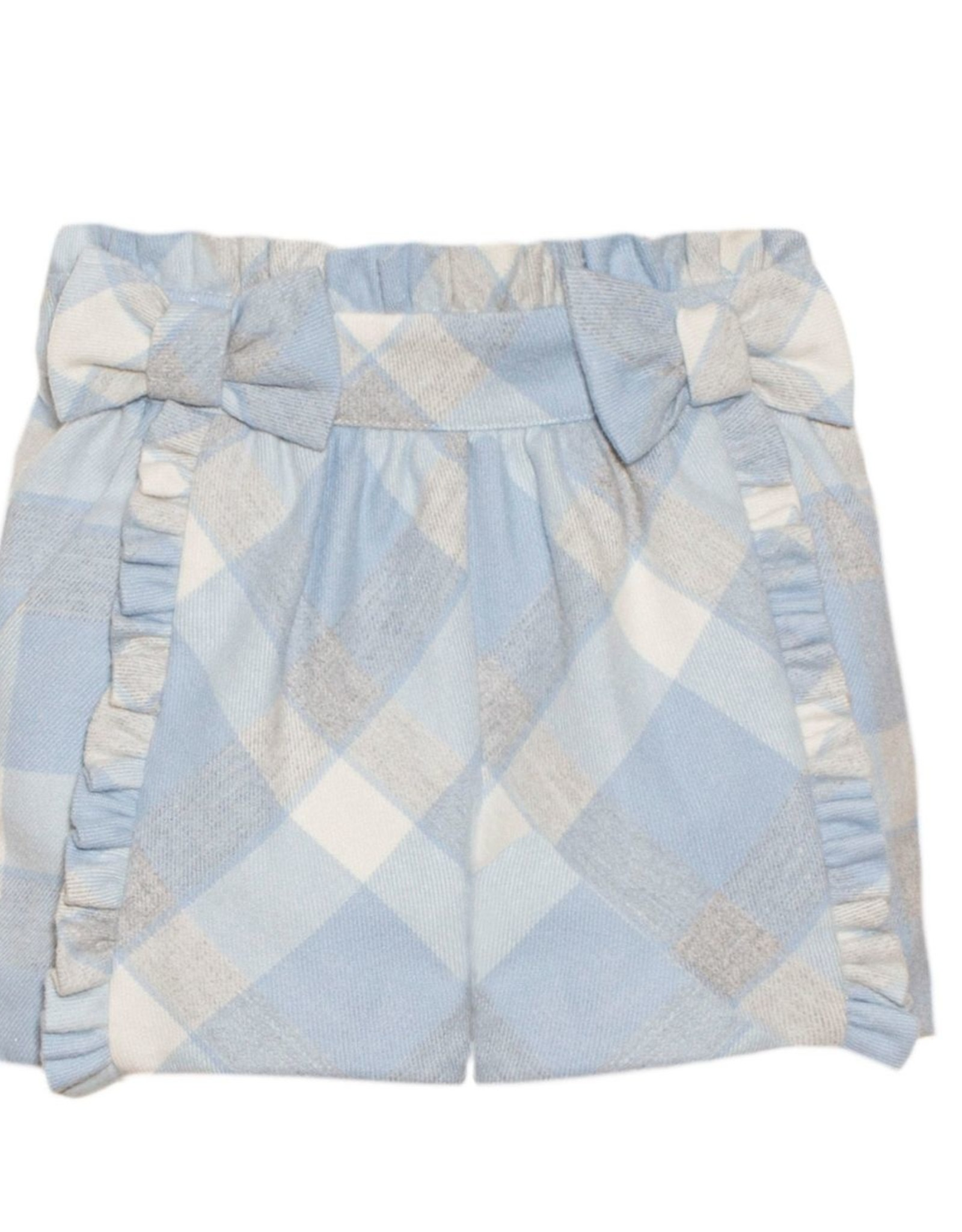 PATACHOU Girl short blue/grey check