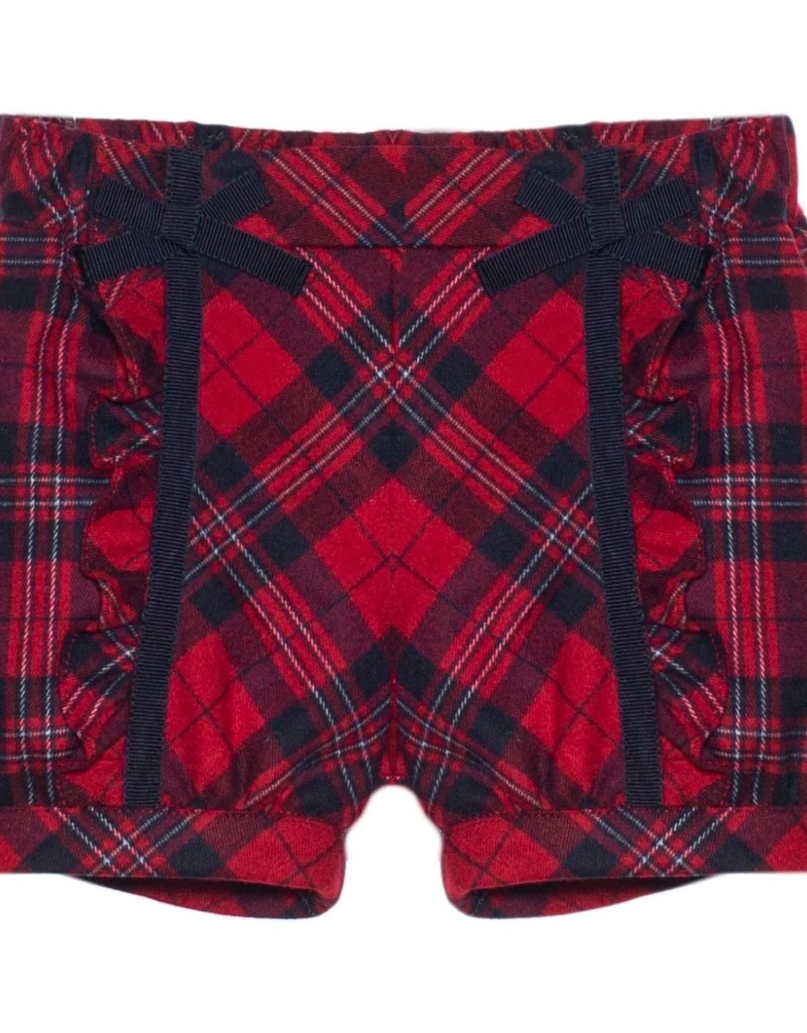 PATACHOU Girl short red check