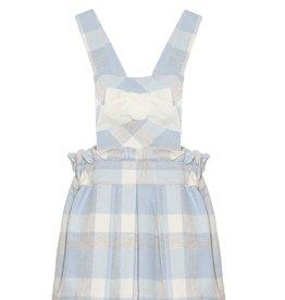 PATACHOU Girl skirt blue/grey check