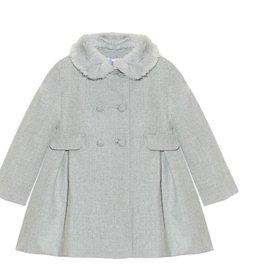 PATACHOU Girl coat melange grey