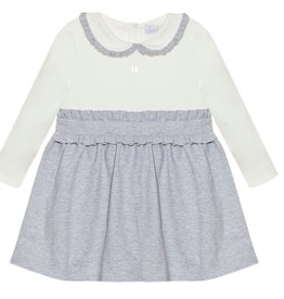 PATACHOU Girl dress melange grey