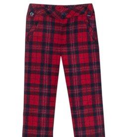 PATACHOU Boy pants red check