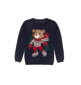 PATACHOU Boy sweater tricot marine