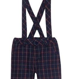 PATACHOU Boy shorts navy check