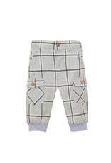 PATACHOU Baby boy pants l.grey check