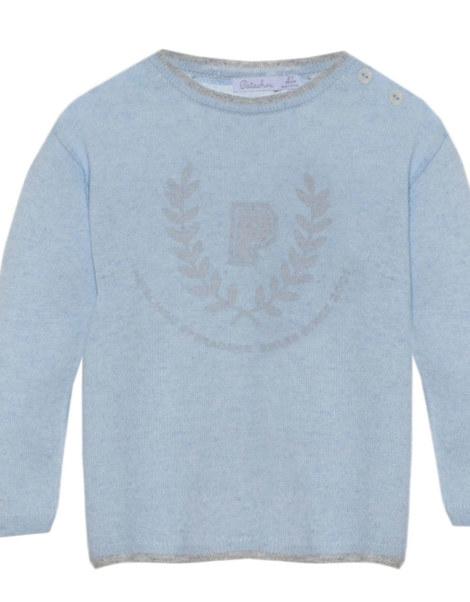 PATACHOU Boy sweater knit blue