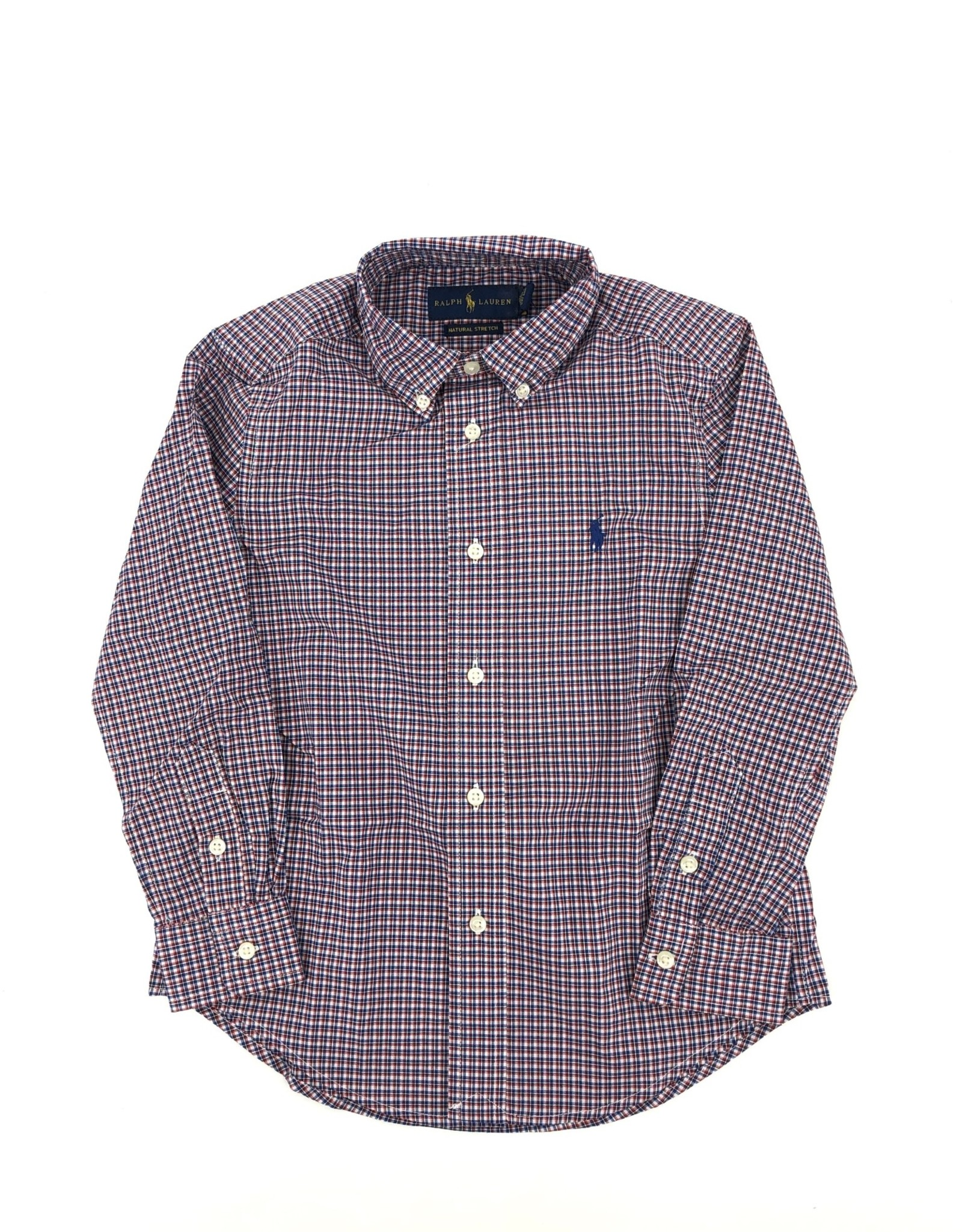 RALPH LAUREN Ls Bd-Tops-Shirt Red/Blue