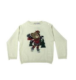PATACHOU Girl sweater tricot ecru