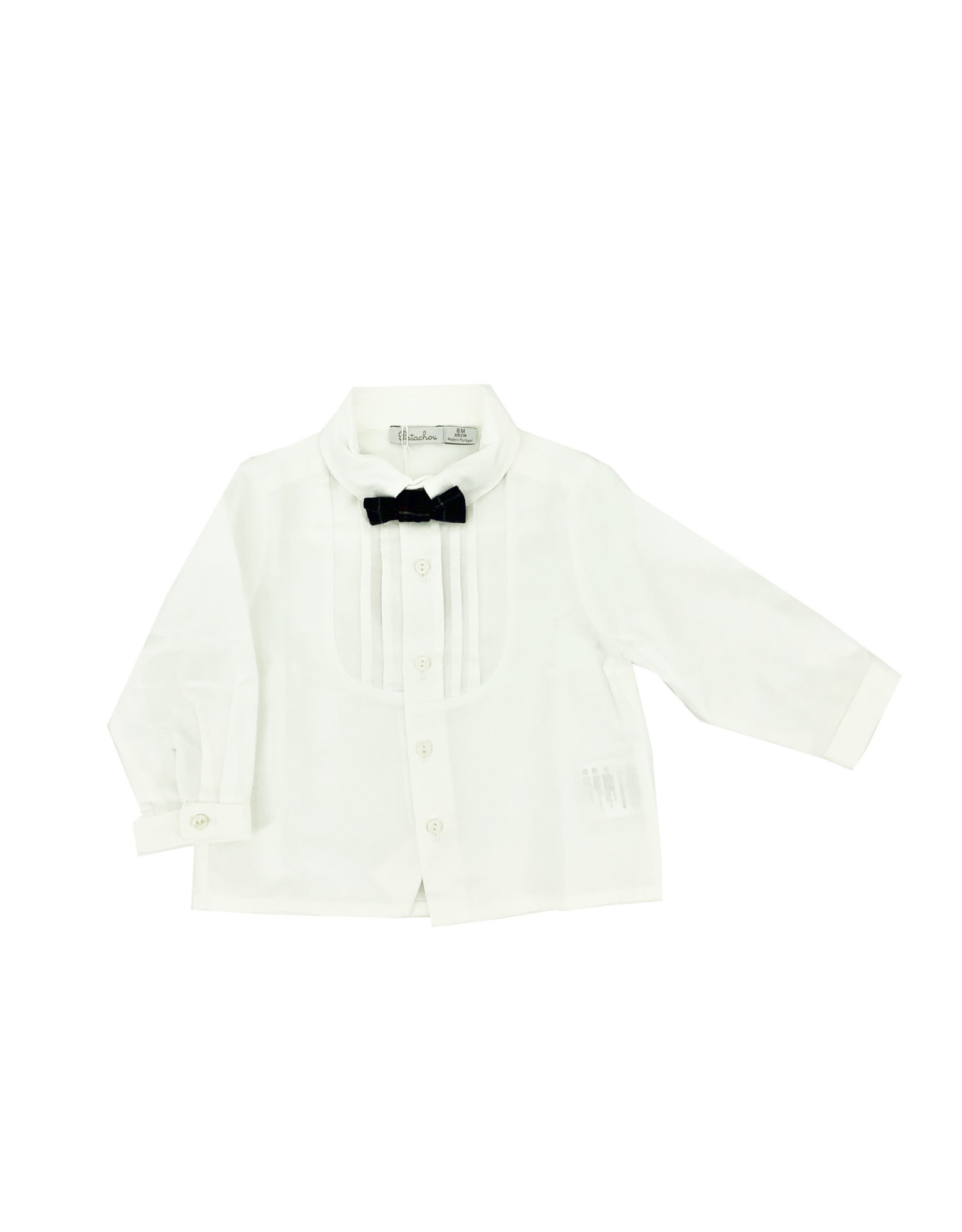 PATACHOU Boy shirt navy check