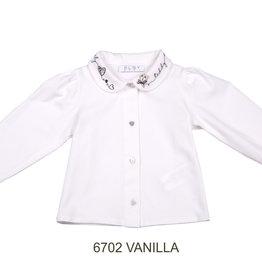 ELSY Vanilla Camicia Jersey Yogurt