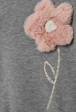 IL GUFO Dress L/S Grey/Powder Rose