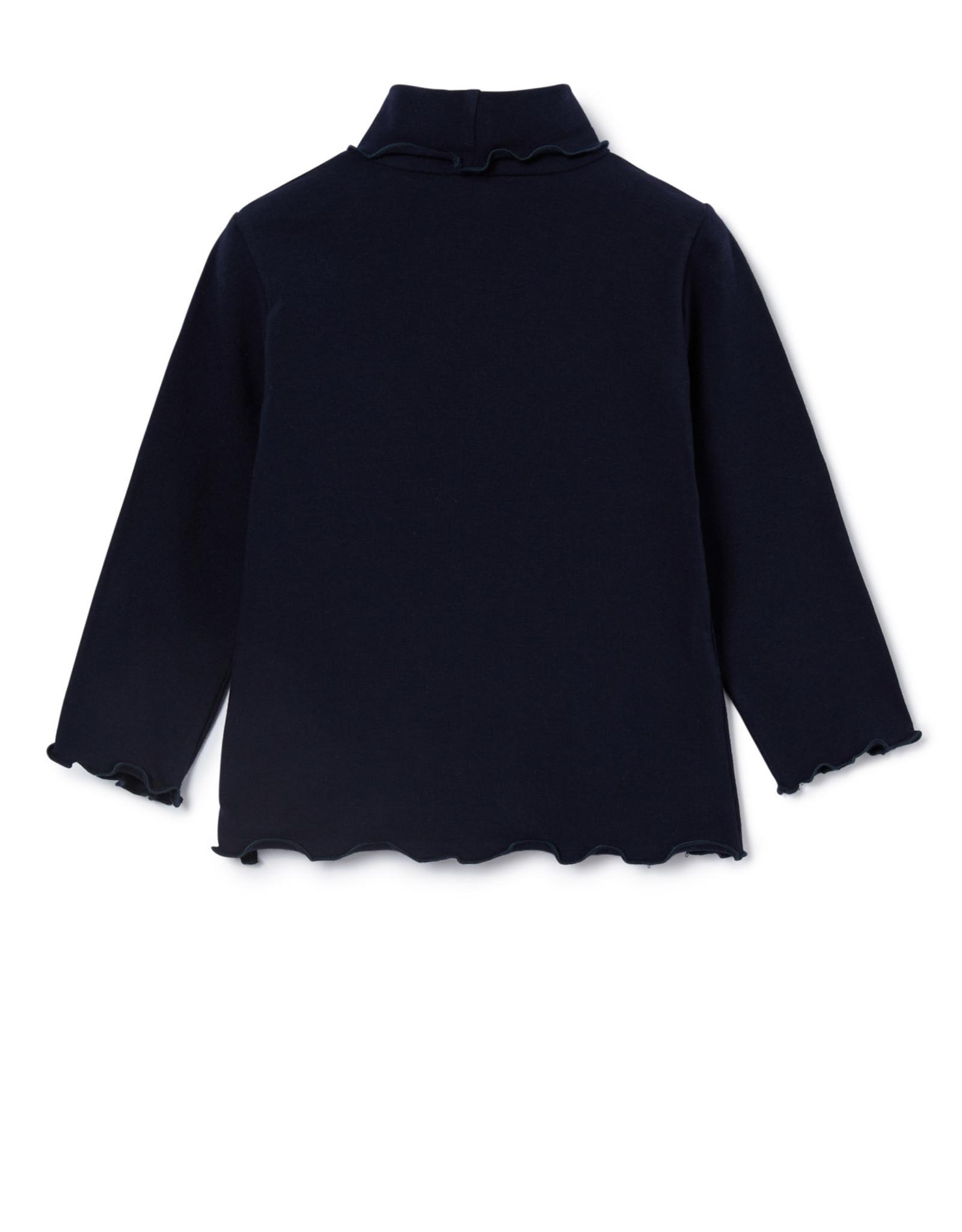 IL GUFO T-Shirt L/S Navy Blue