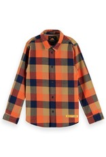 SCOTCH & SODA Yarn dyed check shirt 0221-Combo E