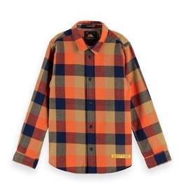 SCOTCH & SODA Yarn dyed check shirt 0221-Combo E