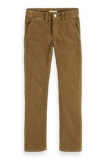 SCOTCH & SODA Chino in corduroy quality Walnut