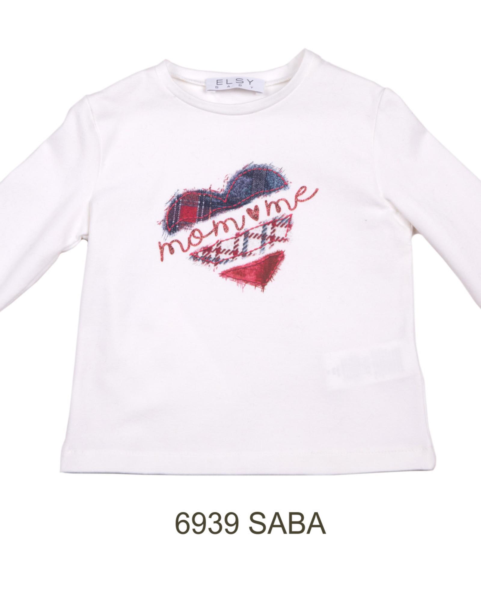 ELSY Saba T-Shirt Jersey Yogurt