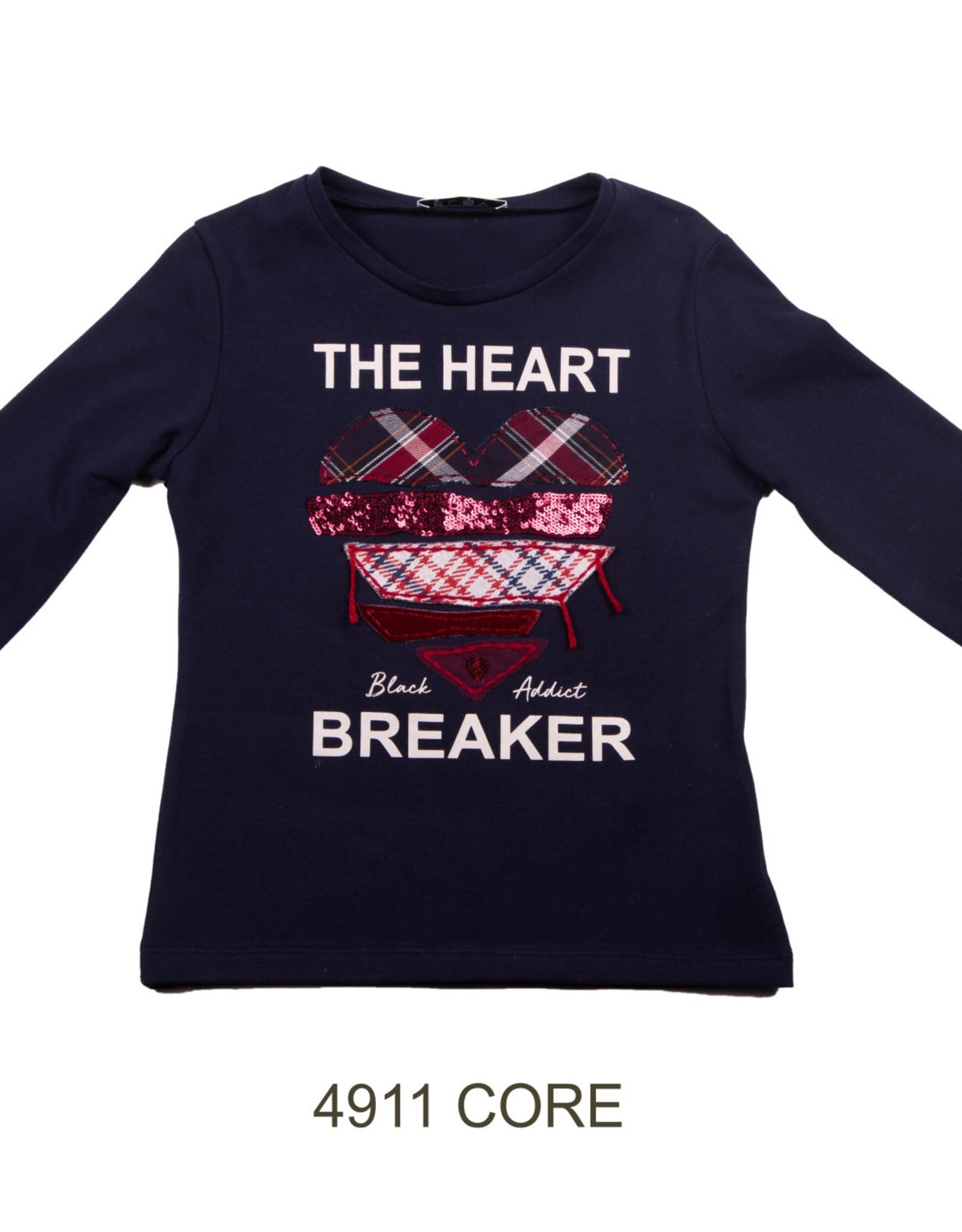 ELSY Core T-Shirt Lunga Nero