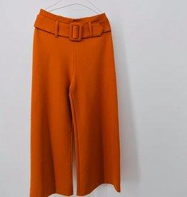 ELSY Canda Pantalone Vita Alta Becco D'Oca
