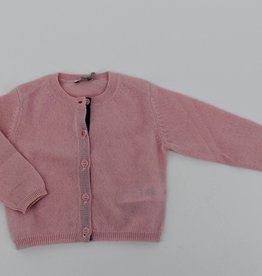 IL GUFO Cardigan Quartz Pink/Mauve
