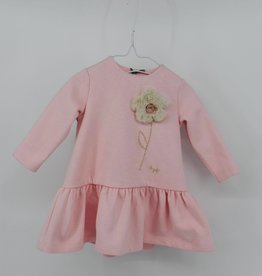 IL GUFO Dress L/S Pearl Pink /Natural
