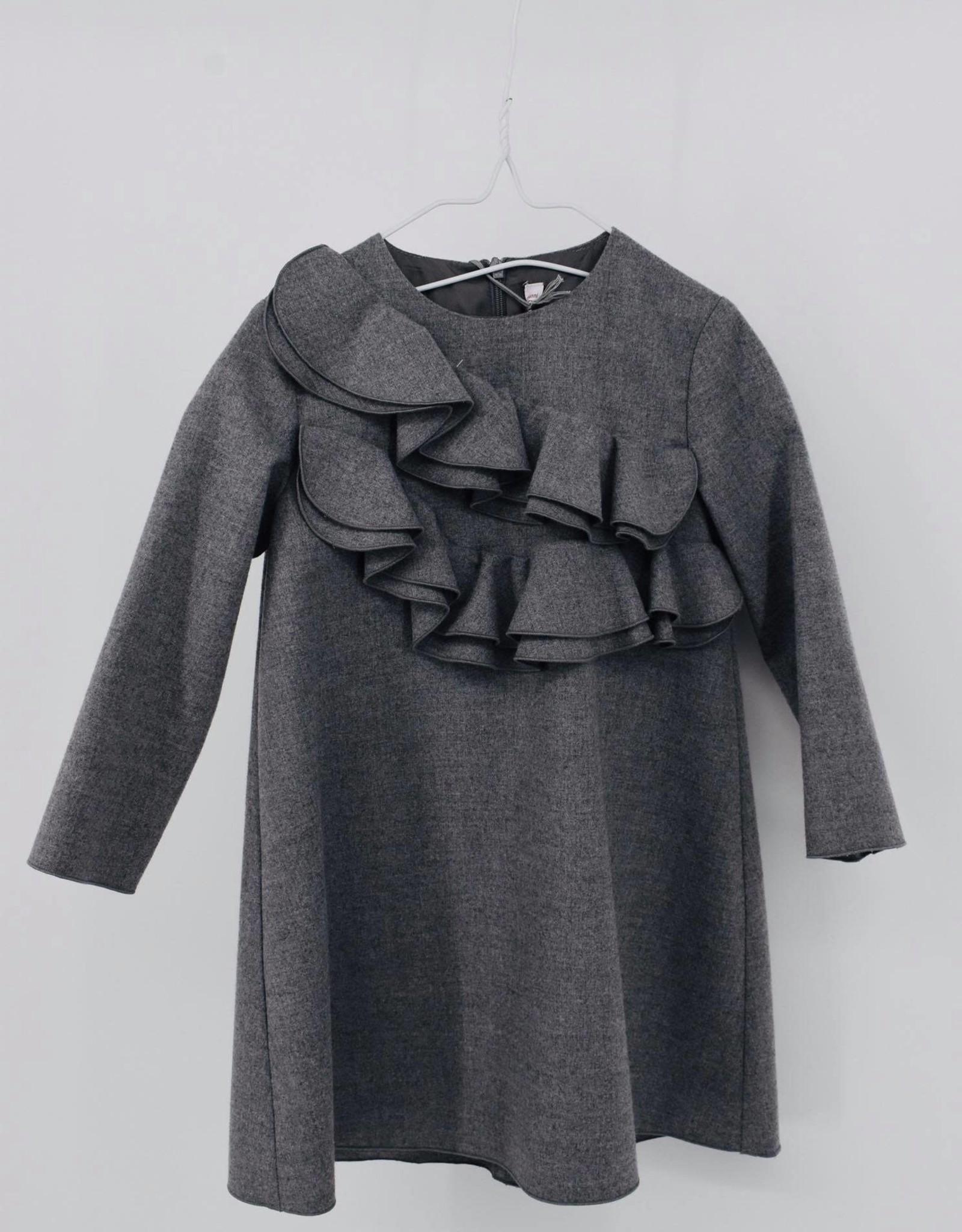 IL GUFO Dress L/S Cloud Grey