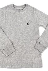 RALPH LAUREN Ls Cn-Tops-T-Shirt Andover Heather