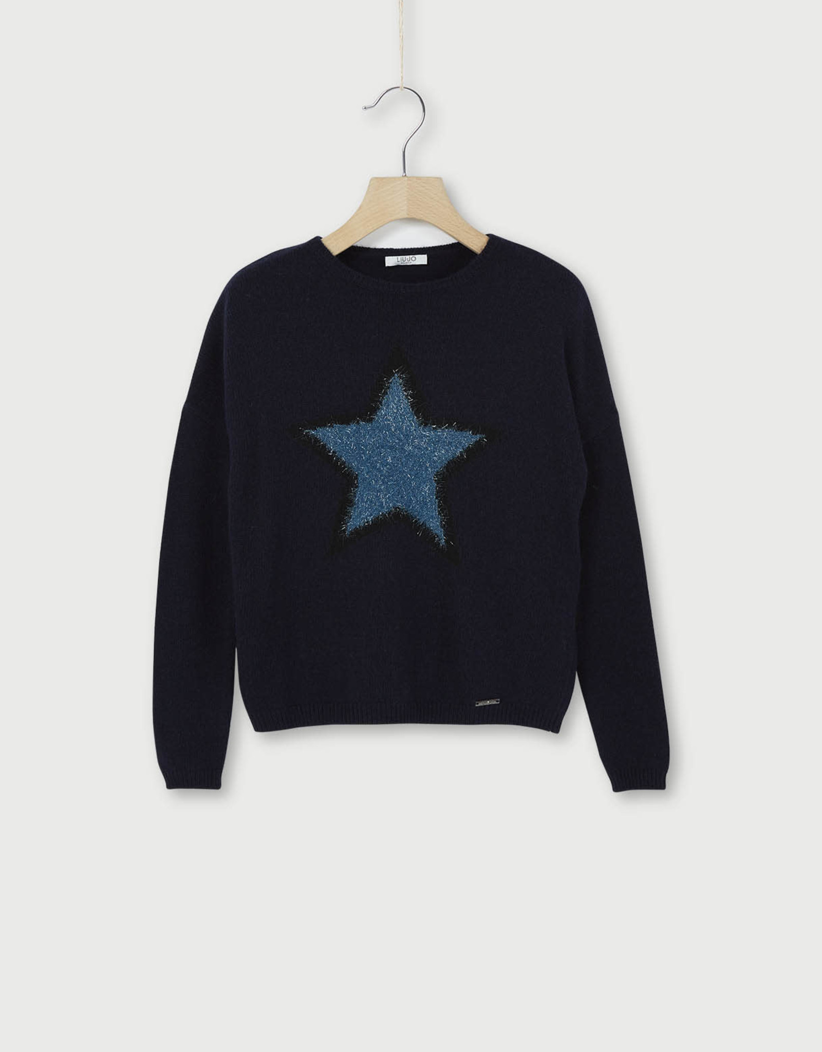LIU JO Pull midnight sky star