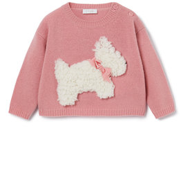 IL GUFO Sweater Sweet Pink/Milk