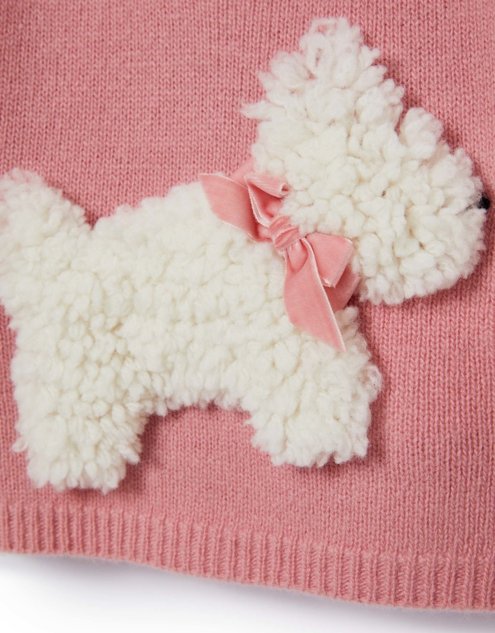 IL GUFO Sweater Sweet Pink/Milk