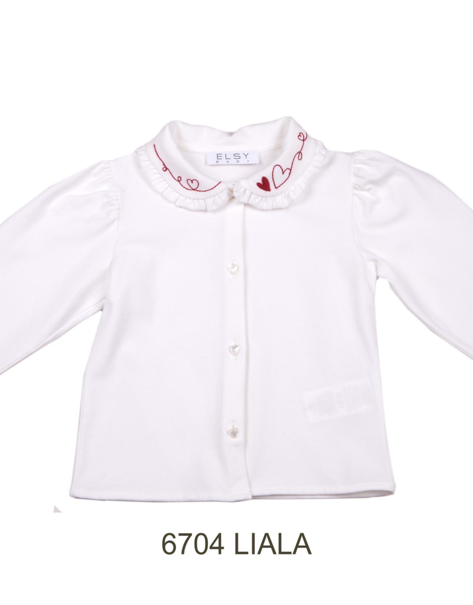 ELSY Liala Camicia Jersey Yogurt