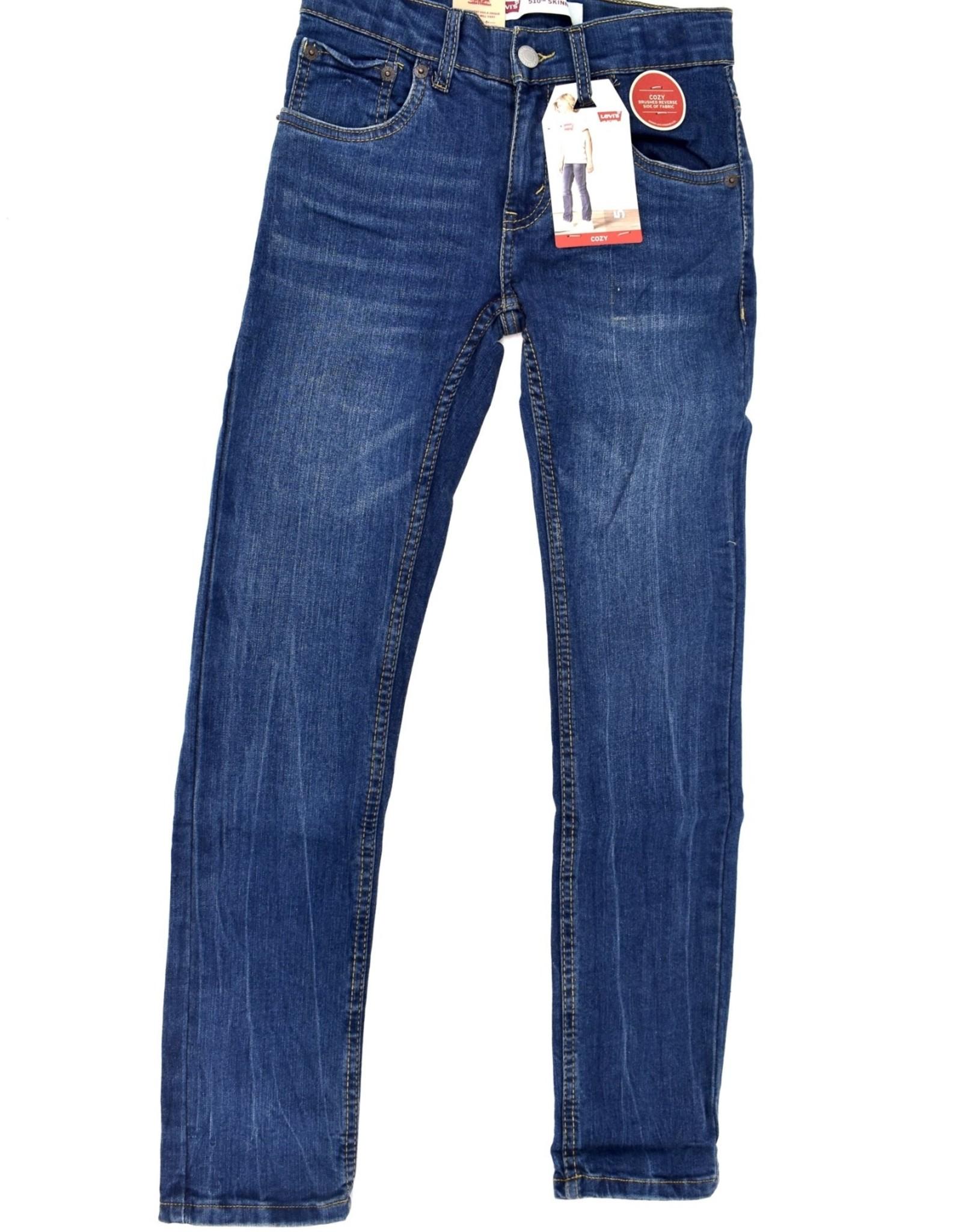 LEVI'S Lvb 510 Skinny Fit Cozy Jeans Aerosmith