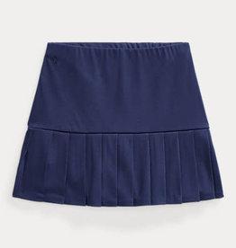 RALPH LAUREN Pleated Sctr-Bottoms-Skirt French Navy
