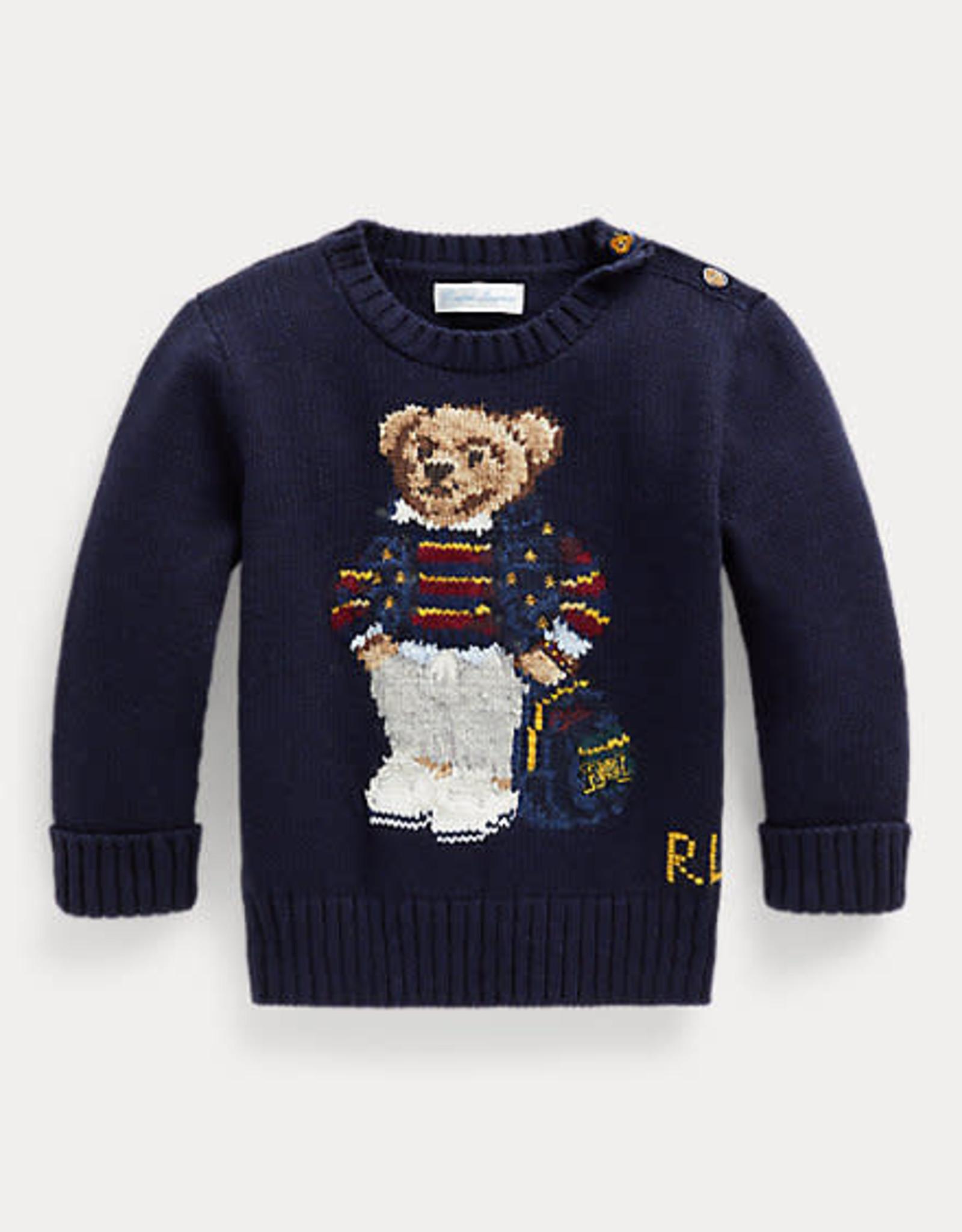 RALPH LAUREN Ls Cn-Tops-Sweater Rl Navy