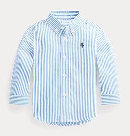 RALPH LAUREN Ls Bd-Tops-Shirt New England Blue Multi