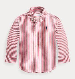 RALPH LAUREN Ls Bd-Tops-Shirt Classic Wine Multi baby
