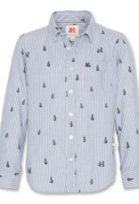AMERICAN OUTFITTERS trees button down shirt Blue